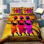 African Woman Bedding Set PBFD YUY BUBL
