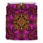 Kaleidoscope Abstract Print Bedding Set PACB YUY BUBL