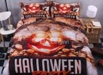 Halloween Party And Pumkin Bedding Set PBAW YUY BUBL