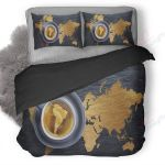Coffee Map Bedding Set PAUM YUY BUBL