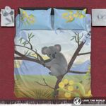 Koala On The Tree Australia Bedding Set PABG YUY BUBL