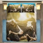 Sunset Cow Bedding Set PBRQ YUY BUBL
