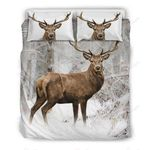 Hunting Deer Cute Bedding Set PBVK YUY BUBL