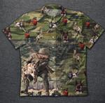 Army Vintage Hawaiian Shirt