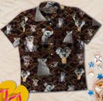 Cute Koala Bear Hawaiian Shirt