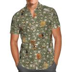 Funny Bees Hawaiian Shirt