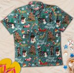 Dachshund Christmas Hawaiian Shirt