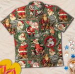 Funny Santa Claus Christmas Hawaiian Shirt