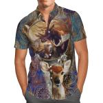 Deer Hunting Hawaiian Shirt
