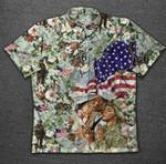 America Flag Veteran Hawaiian Shirt