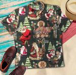 Santa Claus And Jesus Christmas Hawaiian Shirt