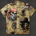 Skull Pirate Hawaiian Shirt