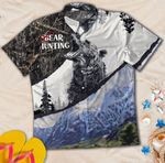 Bear Hunting Hawaiian Shirt