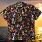 God Bless America Hawaiian Shirt