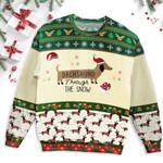 Dachshund Christmas Ugly Sweater