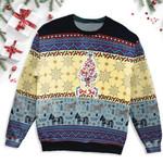 Dala Horse Christmas Ugly Sweater