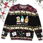 Hero Gnomies Christmas Ugly Sweater
