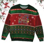 Lights Nurse Christmas Ugly Sweater