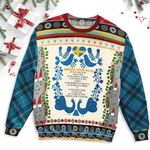 Sweden Christmas Ugly Sweater