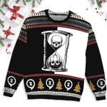 Unus Annus Hourglass Split Ugly Sweater