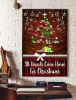 All Hearts Come Home For Christmas Vertical Poster