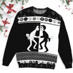 Unus Annus Skull Split Ugly Sweater
