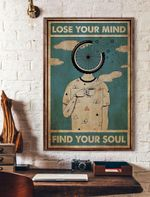 Lose Your Mind Find Your Soul Vertical Poster