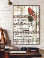 I Believe There Are Angels Among Us Vertical Poster