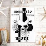 Unus Annus Memento Mori Countdown Vertical Poster