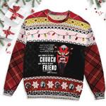 Biker Christmas Ugly Sweater