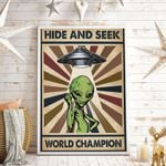 Hide And Seek World Champion Vertical Poster