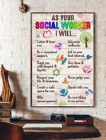As Your Social Worker I Will Vertical Poster