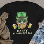 Man Head Happy Saint Patrick's Day