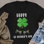 Happy St Patrick's Day Funny Black T-shirt