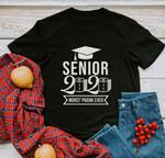 Senior 2020 Quarantine Black T-shirt