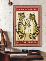 Oh My Goodness Cat Vertical Poster