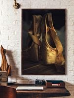 Ballet Shoes Vertical Poster