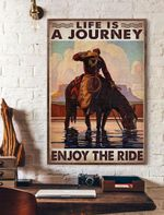 Life Is A Journey Enjoy The Ride Vertical Poster