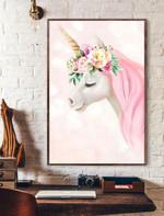 Aesthetic Unicorn Vertical Poster