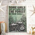 Some Girls Are Just Born With The Mountain In Their Souls Vertical Poster