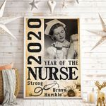 2020 Year Of The Nurse Vertical Poster