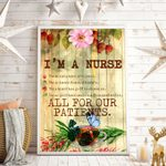 I'm A Nurse All For Our Patients Vertical Poster