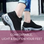 Hypersoft Sneakers by Nicole, HyperSoft Breatable Women's Walking Running Shoes