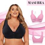 MASI BRA -  Seamless Plus Size Bra Front Closure Elastic Push Up Comfort Boost Up Bra