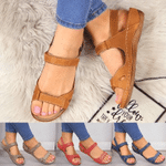 AZZY Premium Faux Leather Arch-Support Orthopedic Women Sandals 4 Colors