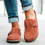 FleekComfy™ Orthopedic Suede Leather Posture Arch-Support Walking Slip-On Shoes