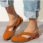 OCW™ Orthopedic Crystal Breathable Suede Summer Retro Sandals