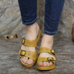 Azzy™ Woman Open Toe Orthopedic Comfy Sandals 4 Colors 2021 Design