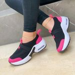 2021 New Thick Bottom Slope Heel Casual Women's Shoes