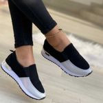 Sport Shoes Woman Platform Sneakers Women Wedge Shoes For Ladies Loafers Shoes Women Casual Sneakers Comfortable Shoes Slip On
